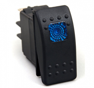 Daystar Blue Rocker Switch