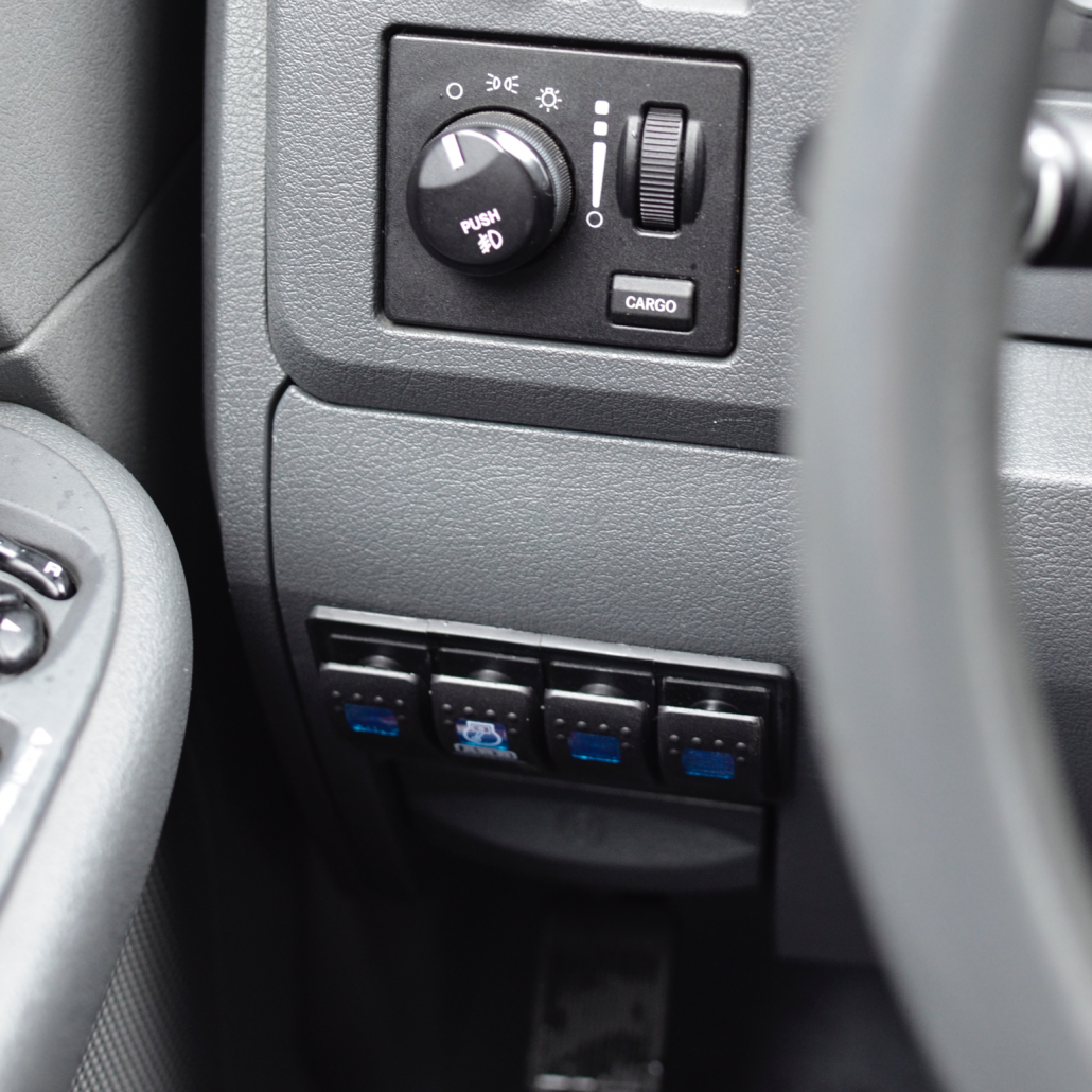 Dodge Ram Switch Panel Install 12