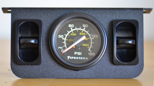 Firestone Dual Air Gauge Install