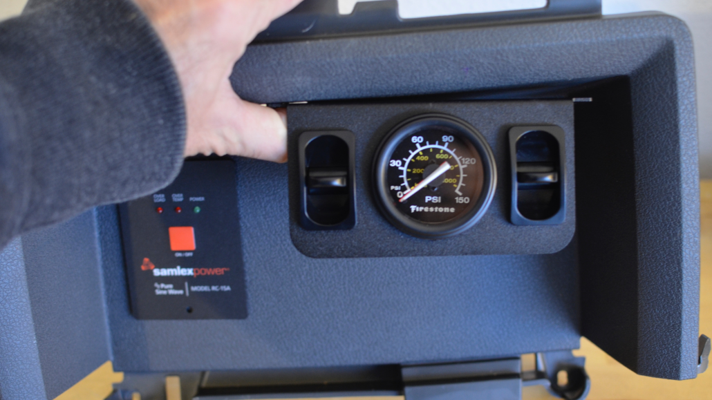 Firestone Dual Air Gauge Install 2