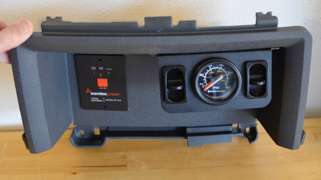Firestone Dual Air Gauge Install 5