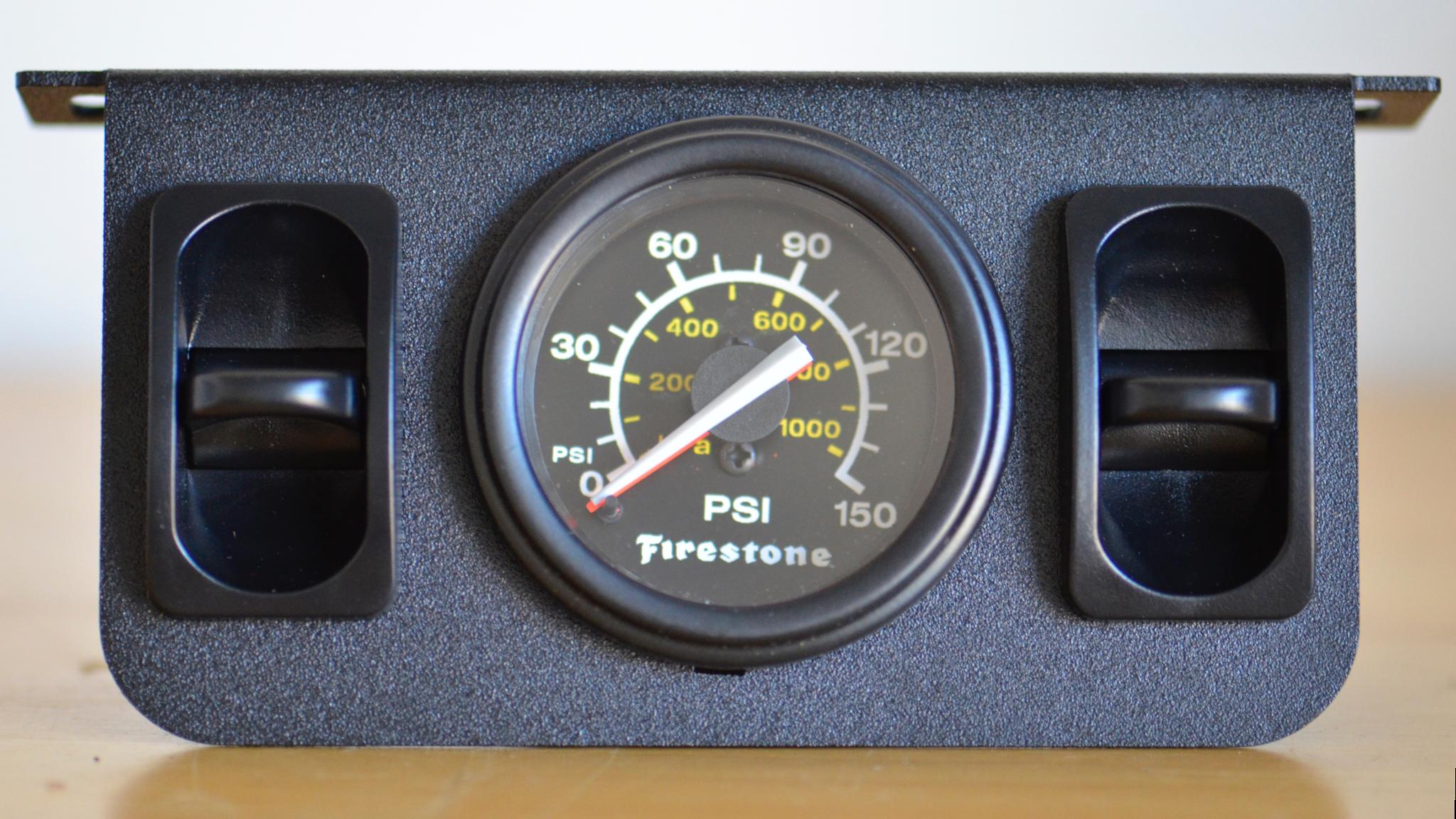Firestone Dual Air Gauge Install