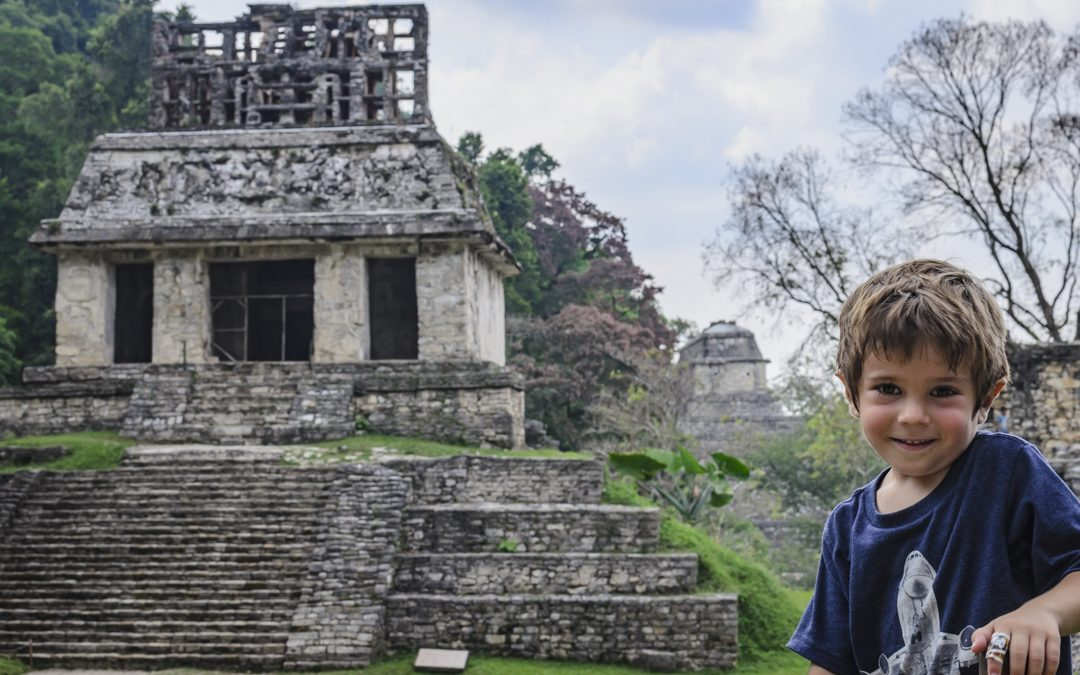 Mexico's Famous Palenque Mayan Ruins and Making Friends